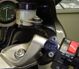 Brembo Mount and bracket right. On bike2.JPG